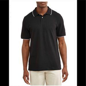 Men's Pique Stretch Polo Shirt